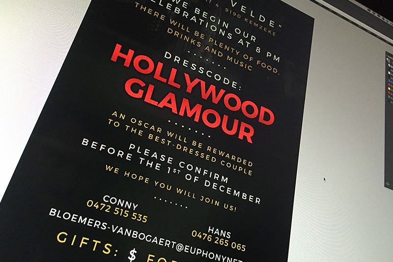 Red Carpet flyer
