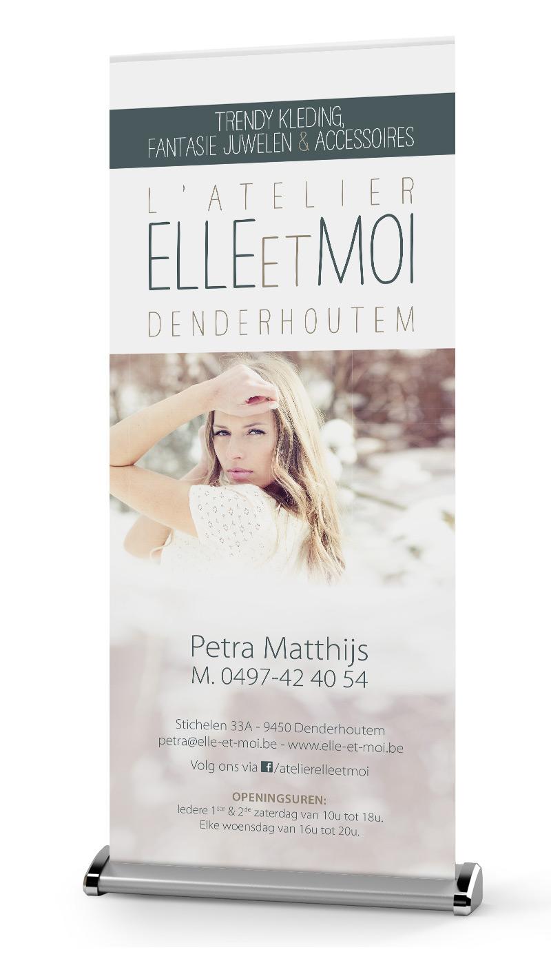 Roll-up Elle & Moi